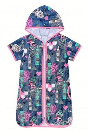 0054ac8d351a2 Детские халаты оптом в Иваново от производителя — Кидс-Текстиль
